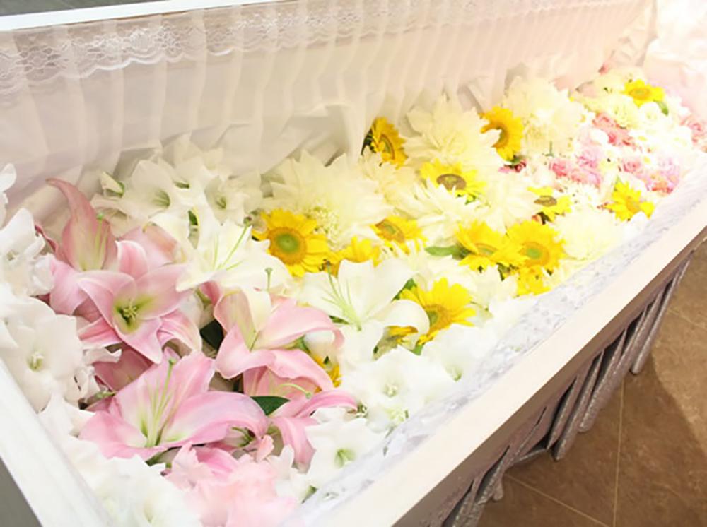 草加市の家族葬の範囲の写真
