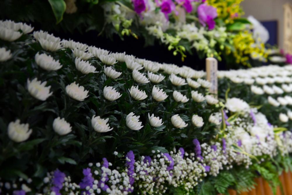 草加市の家族葬の注意点の写真